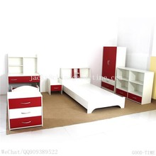 En bois grain melmained MDF pas cher Moderne grand simple Moderne utilisé bedroom furniture set