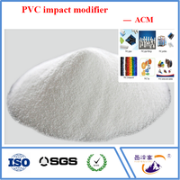 PVC impact and toughen modifier ACM,better than CPE