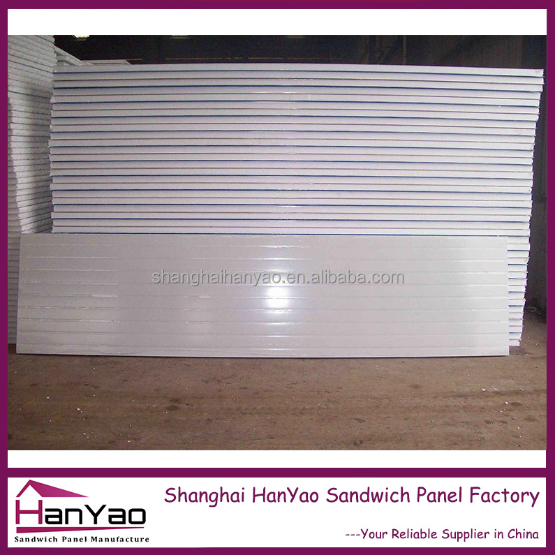 Shanghai HanYao Color Steel Expanded Polystyrene Laminboard Acoustic Wall/Roof Sandwich Panel Sound-absorbing Panels