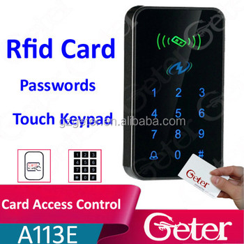 touch keypad Rfid Access Control