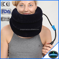 Comfortable Portable Blow Up Air Collar Pillow Device