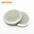 Custom 50 75 Microns porous 316L stainless steel sintered SS disk filters
