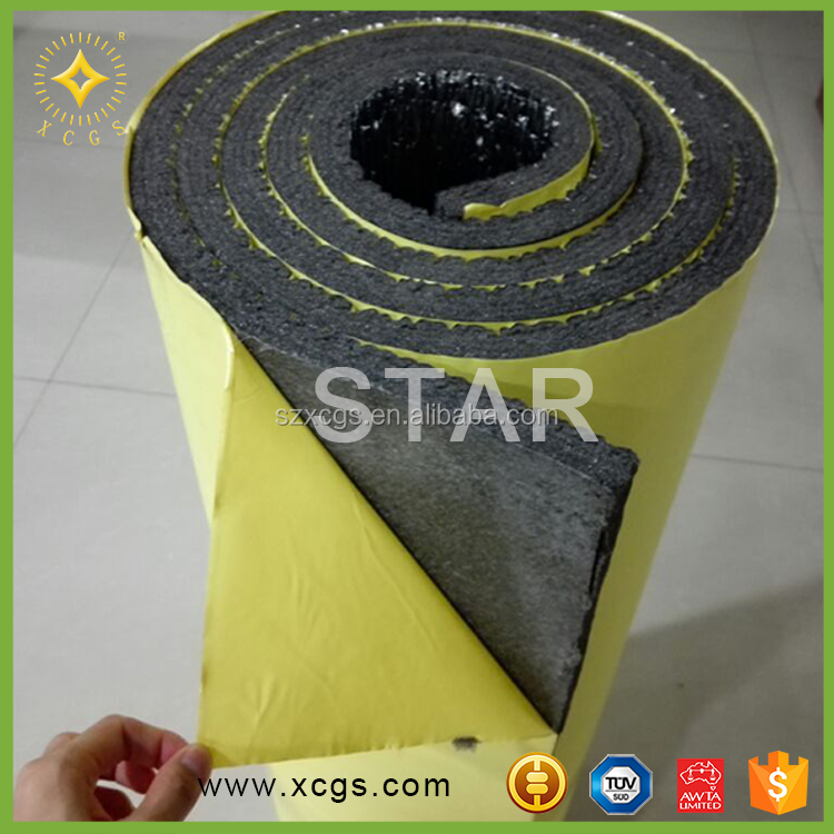 Slef adhesive closed cell foam foil radiant barrier for consruction