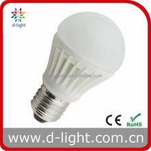 A55 A60 LED LIGHT BULB 220V 240V 3W 5W 7W A60 A55 SMD CERAMIC GLASS LED LAMP