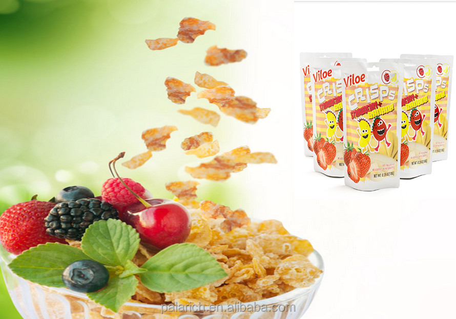 Fruit strawberry powder chips hs code is 2008999