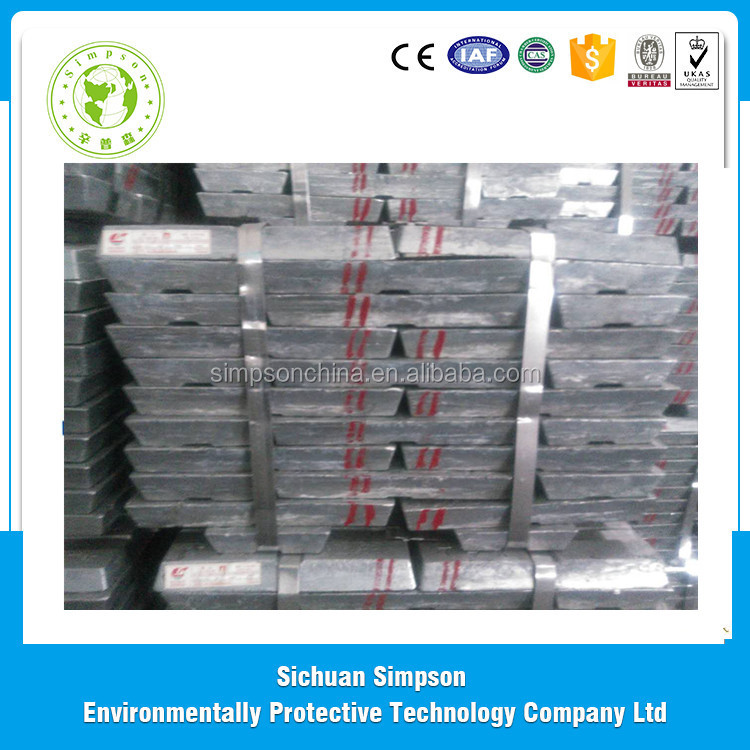 China manufacturers 99.99% 99.995% pure zinc ingot best products for import