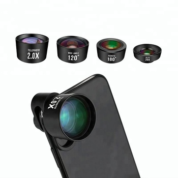 Alibaba wholesale 4 in 1 external cell phone camera lens for iphone android mobile phone lens