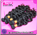 6A grade tangle free no shedding loose curly weave hair