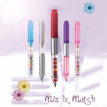 Patented Plastic 2-Tips Mix & Match Ball Pen