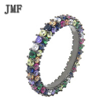 fine jewelry natural diamond ring silver jewelry sets Mood Ring for Women Color Changing Finger Rings
