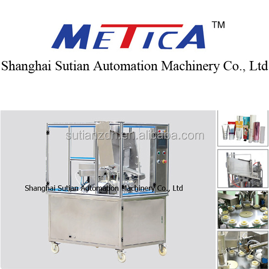 MTGF-20 Automatic ultrasonic soft tube filling sealing machine/facial cleaner filling sealing machine in shanghai