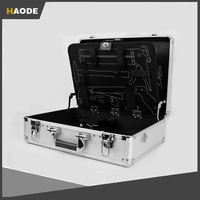 Rugged Textured Aluminum Carrying Tool Case