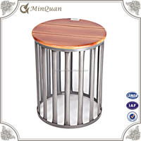 latest center dine table design , small wood round tea table