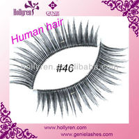 100% Indian Remy Human Hair Eyelashes