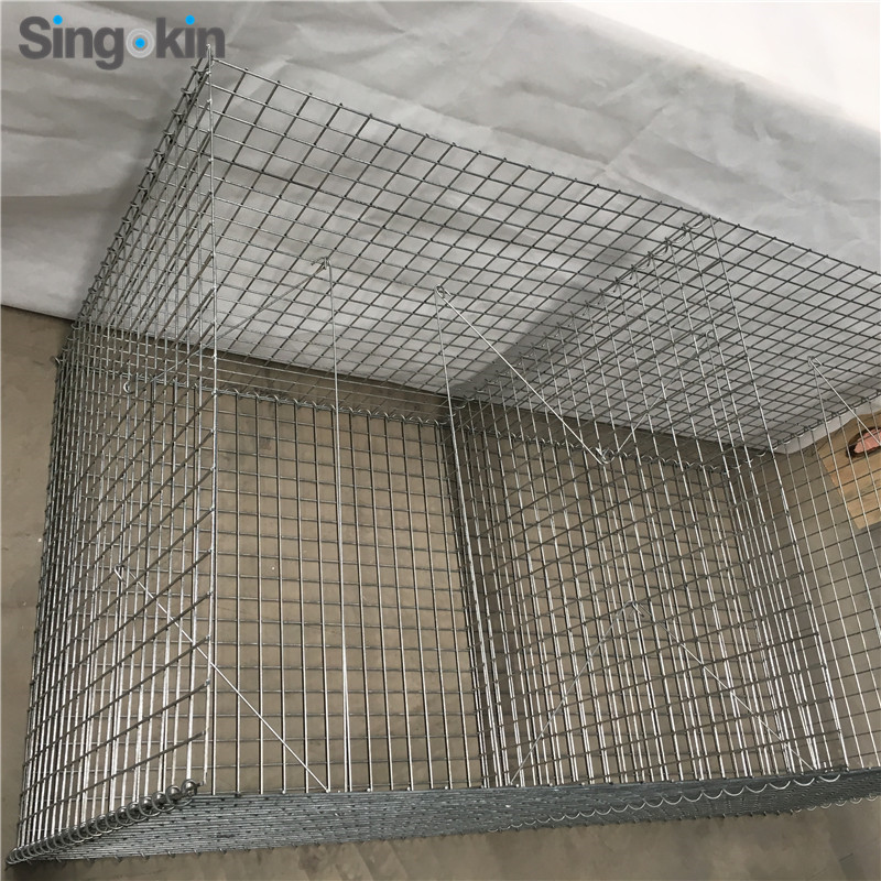 <strong>2</strong> <strong>x</strong> <strong>1</strong> <strong>x</strong> 1m gabion wire mesh boxes galvanized gabion wire mesh for sea wall