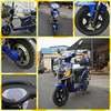 500W cheap price two wheel adult electric motor bike /electric motorcycle 80 km rang for sale (ML-530)