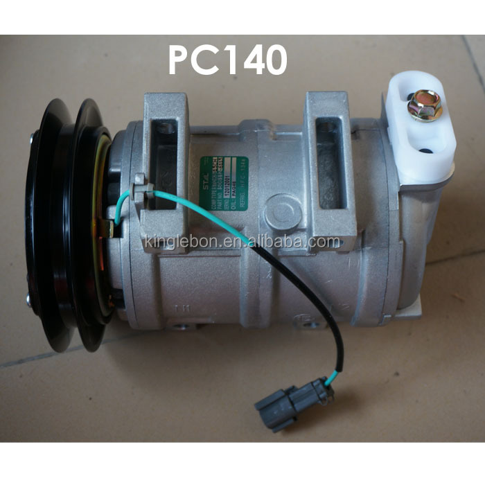 PC200-7 20Y-979-6121 Ac Compresseur Air Conditionné Compresseur Pour Pelle Camion