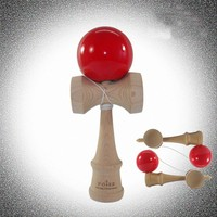 Finely crafted Wood Kendama Pro, traditional Japanese toss game wood kendama