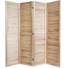 Shabby Chic French Wood Room Divider 4 Panel Partition Screens