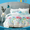 China supplier! Low MOQ Home Textile 220TC Cotton Sateen Reactive Printed Bed sheet