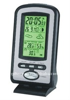 digital LCD radio controlled clock,weather forecast lcd clock