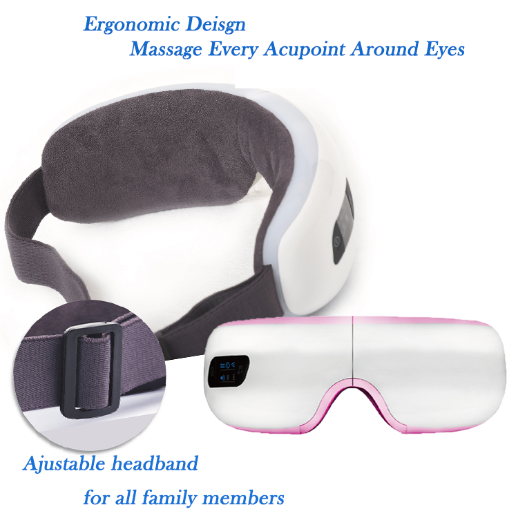 Facial Eye Care Massager Vibration Eye Massage Instrument with music
