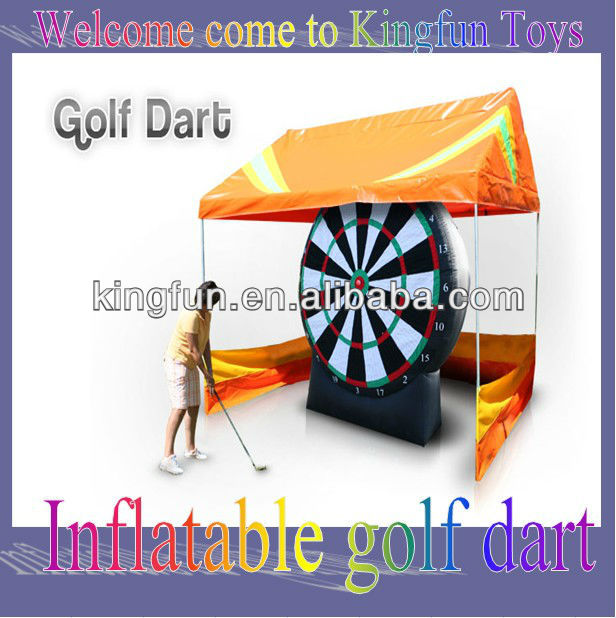 New design inflatable golf darts game