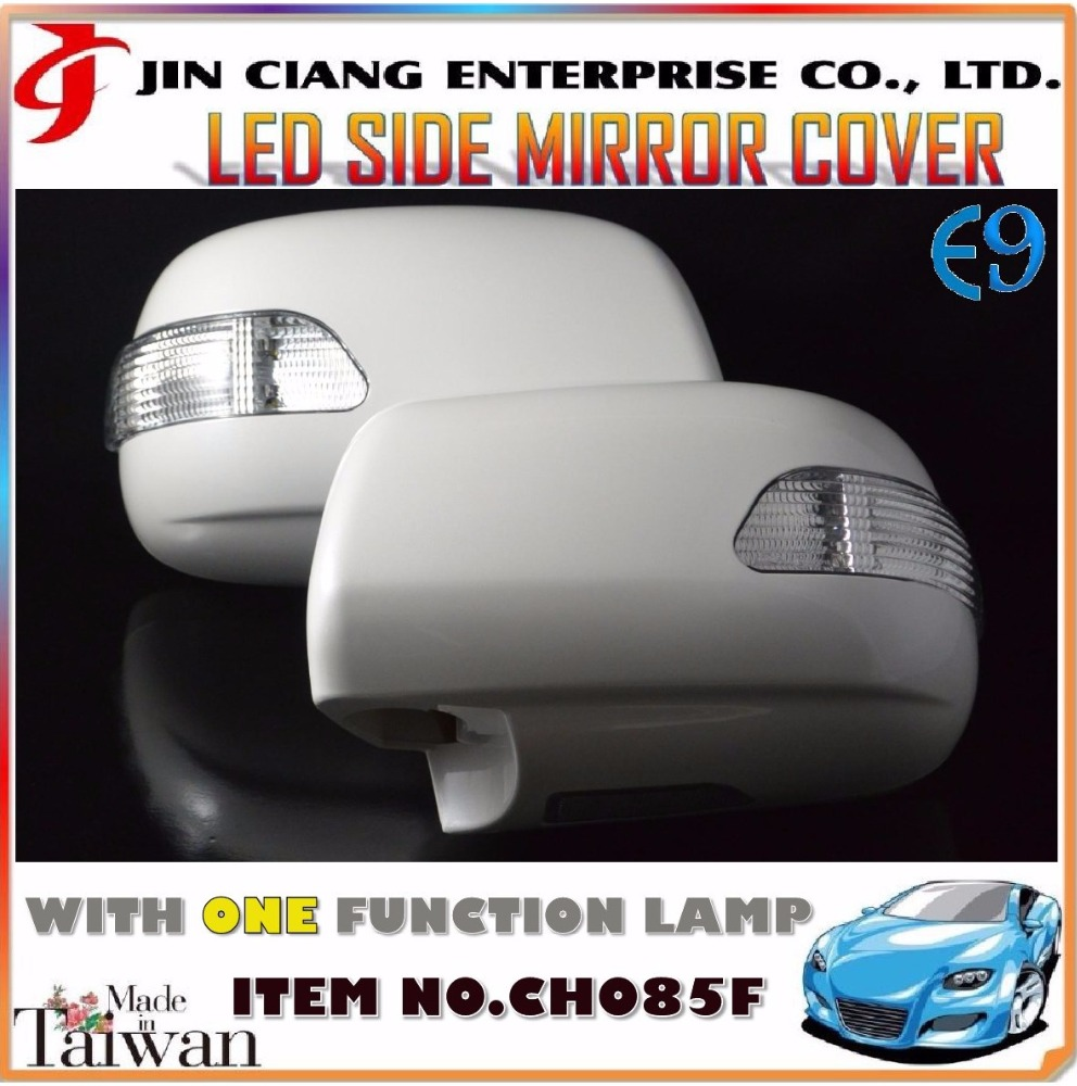 Body Kit product LED DOOR MIRROR COVER For INDIA TOYOTA KIJANG INNOVA