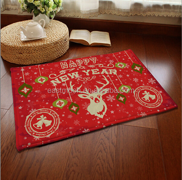 2016 Christmas hot selling carpet non-slip door mat floor mat