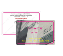 Custom printed blank programable plastic id rfid business card cheap