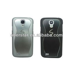 laser mark metal smart cover / laser mark phone cover case for samsung s4