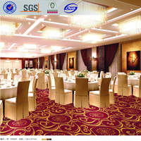 100% Nylon hotel banquet hall carpet