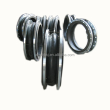 EPDM Flexible Single Ball epdm double-sphere flanged rubber expansion joints