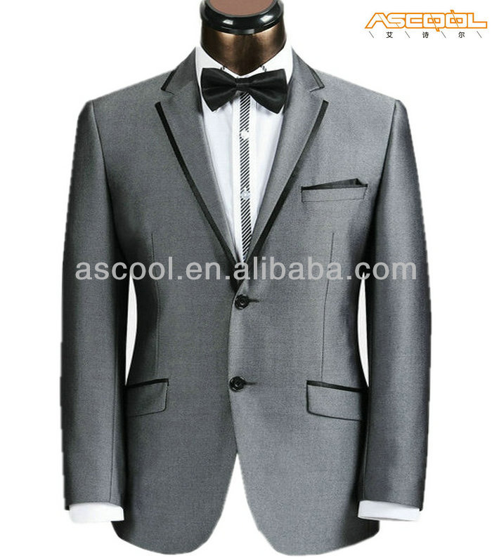 Fashion Tailored Fit High Quality 100% Polyester Blazer For Man Suit