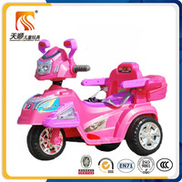 Three wheel kids electric motorcycle battery powered kids motorbike for children