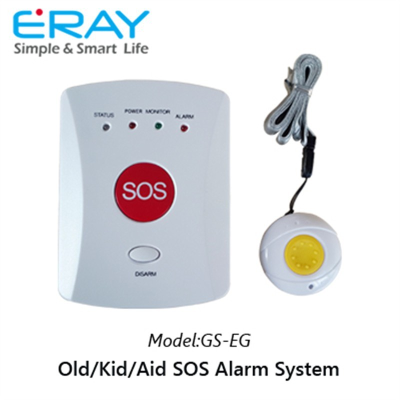 SOS alarm emergency call system medical alert alarm GSM home alarms for elderly/kids/aid