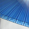 High strength corrugated sunlightsheet/transparent roof sheet/clear plastic roofsheet
