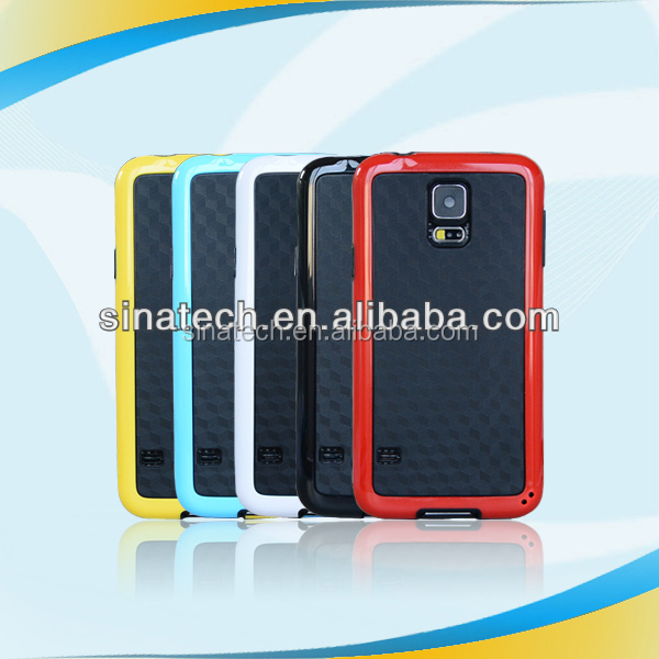 hot new products for 2014 usams aluminum metal bumper case for samsung galaxy s5