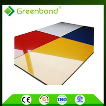 Greenbond classic color of aluminum composite panel acp 2012