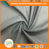 Wholesale China 100% polyester Tricot warp knitted fabric mesh fabric for shoes