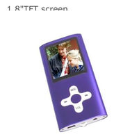 1.8 inch TFT screen 4th generation mp4 support TF card