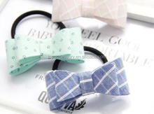 NEW style Elastic Girl Rope Children Ponytail Holder Kids New Hairband Bow Hair Ring Band Hair Accessory