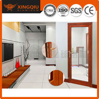 Satisfied Service fabrication of aluminum windows and doors