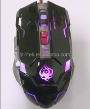 pc accessories laptop accessories magic mouse colourful computer pc notebook wired 6D gamer use OEM mouse gaming