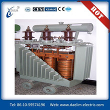 High Voltage low wastage low noise 33 kv transformer