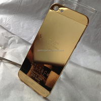 Hot sale for iphone 5 24k gold housing, for iphone 5 gold housing