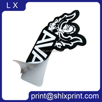 Die Cut Logo Adhesive Vinyl Sticker Custom Adhesive Sticker Printing Custom Sticker
