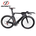 TT01 2017 latest design carbon titanium bike frame