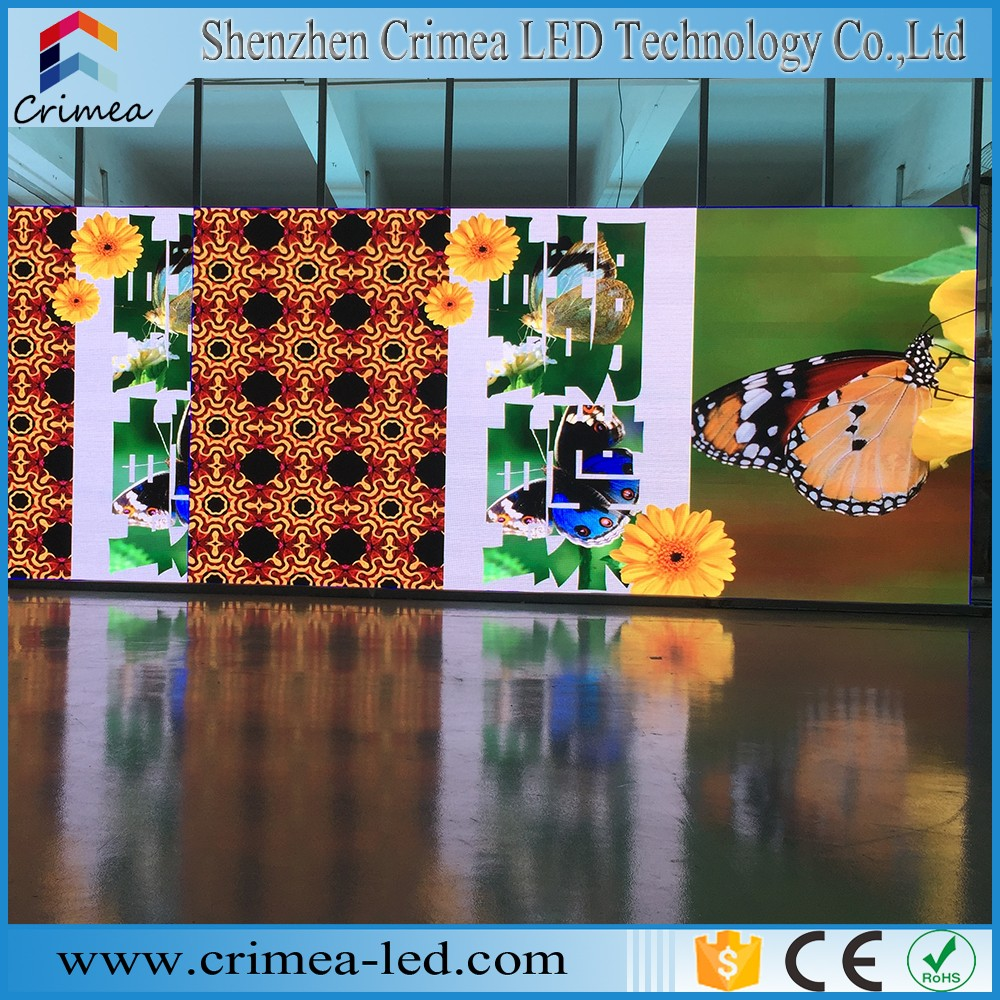 HD full color led display xxx new sex video P2.5 die-casting aluminum cabinet rental led display screen wholesale