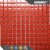 crystal glass mosaic tile, glitter red glass tile, crystal glass tile